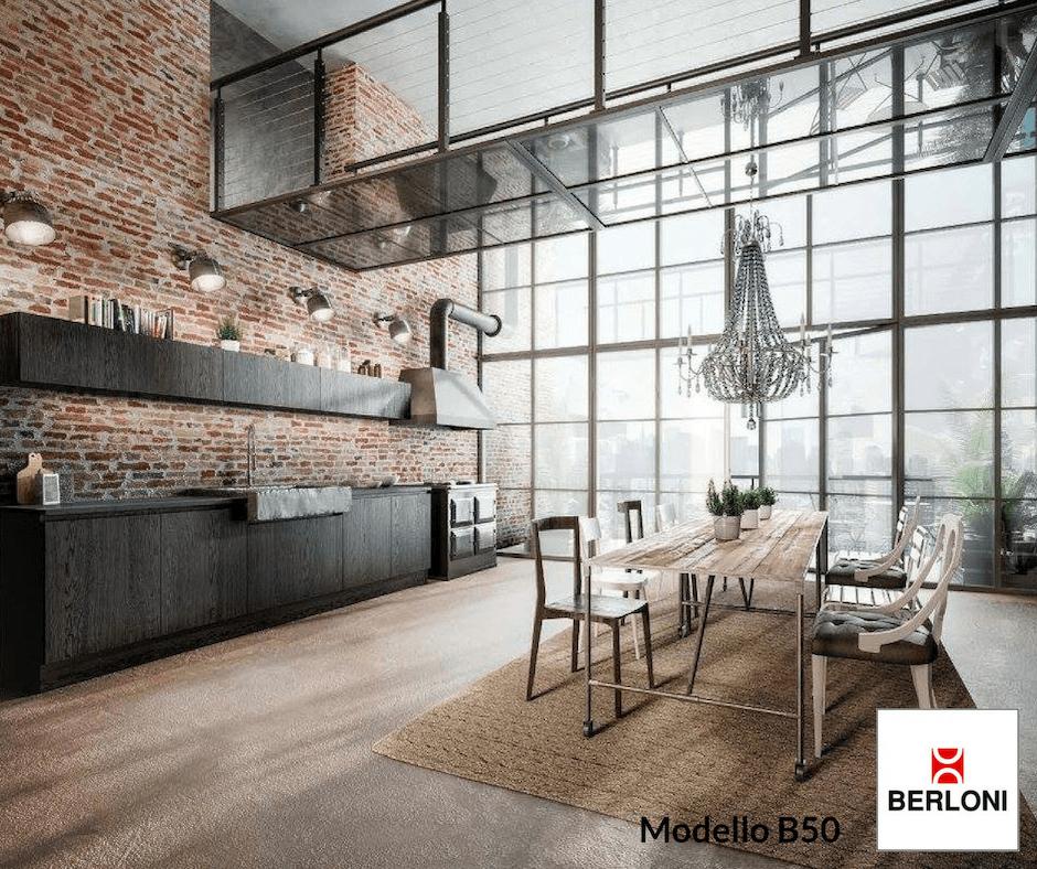 Stile Cucine Berloni Industrial
