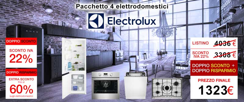 elettrodomestici offerta biella electrolux
